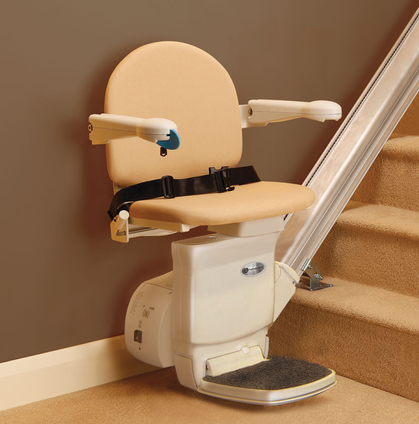 los angeles handicare straight rail stairlift